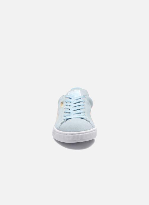 Baskets Puma Suede Classic Wn's Bleu vue portées chaussures