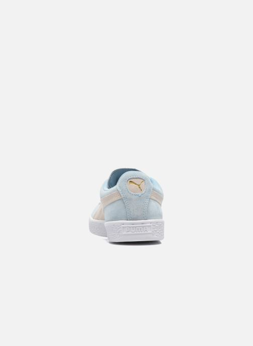 Baskets Puma Suede Classic Wn's Bleu vue droite