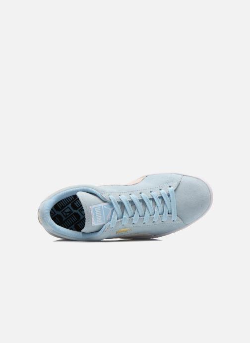 Baskets Puma Suede Classic Wn's Bleu vue gauche