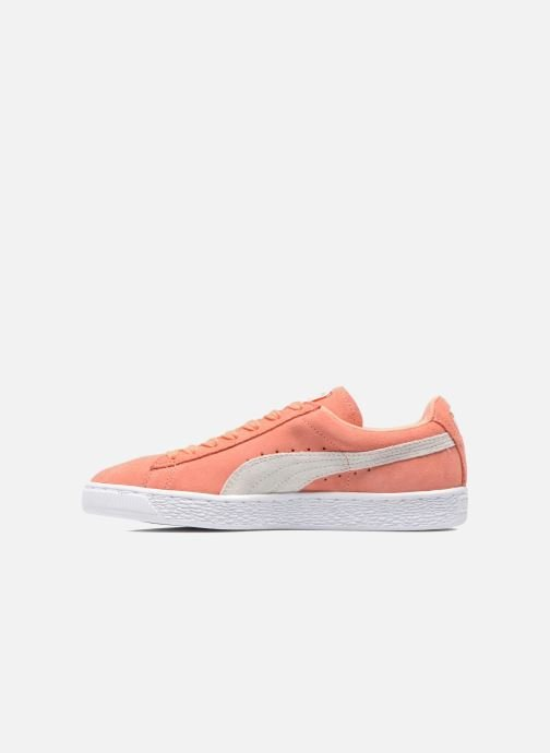 Baskets Puma Suede Classic Wn's Orange vue face