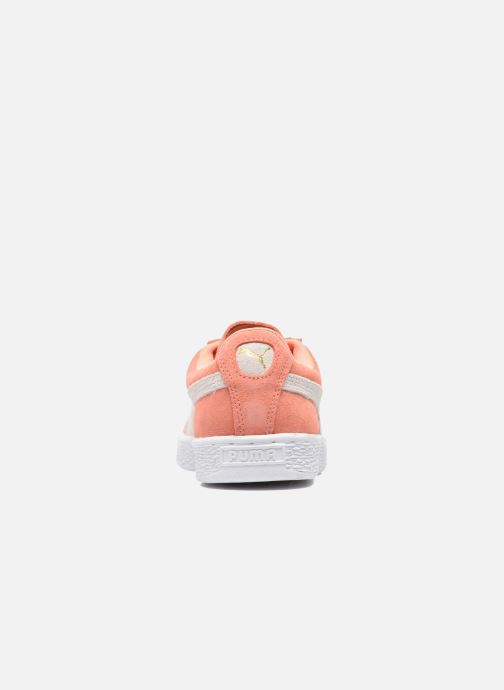 Baskets Puma Suede Classic Wn's Orange vue droite