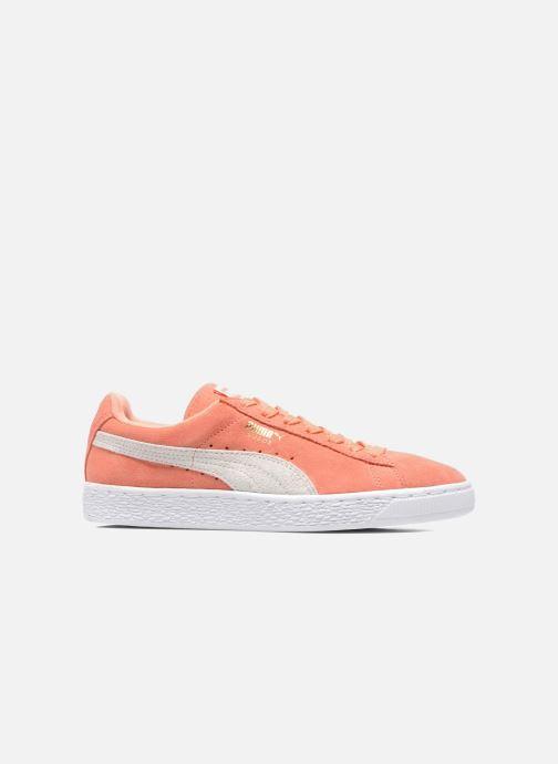 Sneaker Puma Suede Classic Wn's orange ansicht von hinten
