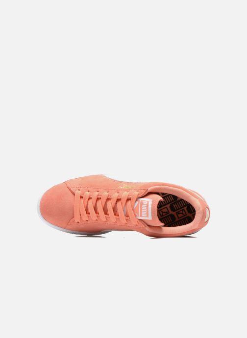 Sneaker Puma Suede Classic Wn's orange ansicht von links