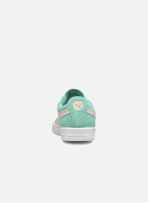 Sneaker Puma Suede Classic Wn's grün ansicht von rechts