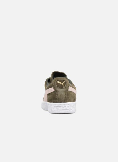 Sneakers Puma Suede Classic Wn's Verde immagine destra