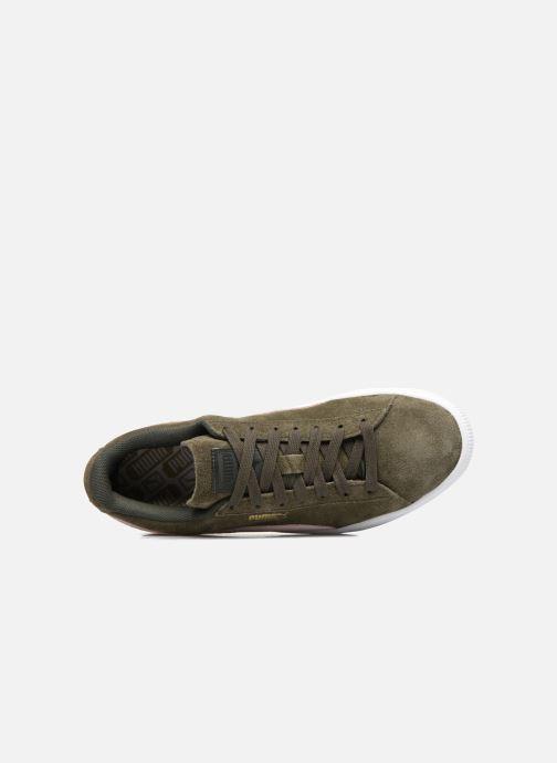 Sneakers Puma Suede Classic Wn's Verde immagine sinistra