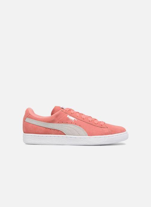 Sneaker Puma Suede Classic Wn's rosa ansicht von hinten