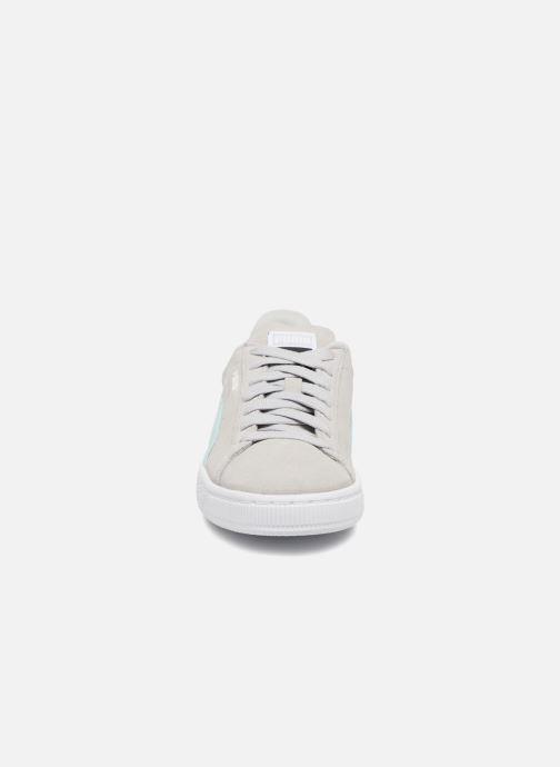 Sneaker Puma Suede Classic Wn's grau schuhe getragen