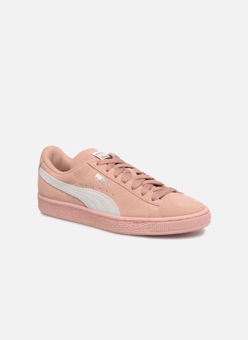 Sneakers Puma Suede Classic Wn's Pink detaljeret billede af skoene
