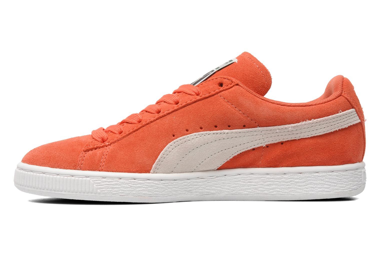 Baskets Puma Suede Classic Wn's Orange vue face