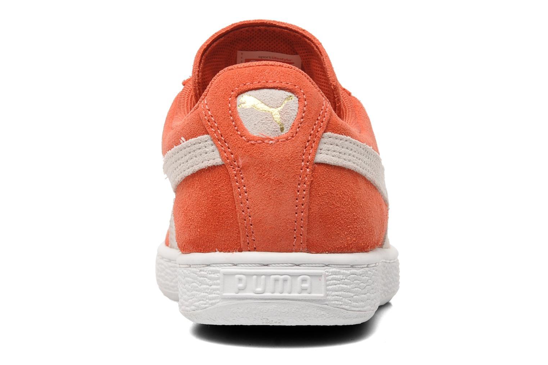 Baskets Puma Suede Classic Wn's Orange vue droite