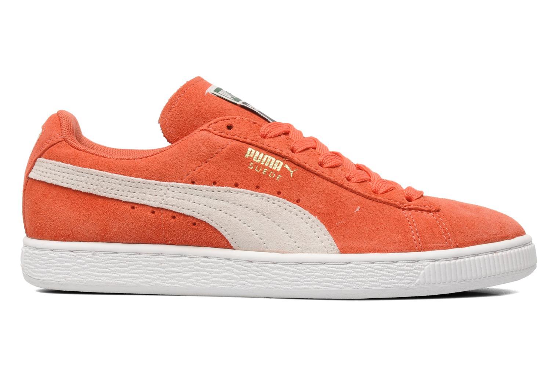 Baskets Puma Suede Classic Wn's Orange vue derrière