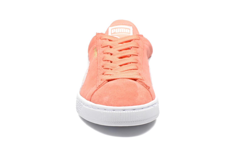 Baskets Puma Suede Classic Wn's Orange vue portées chaussures