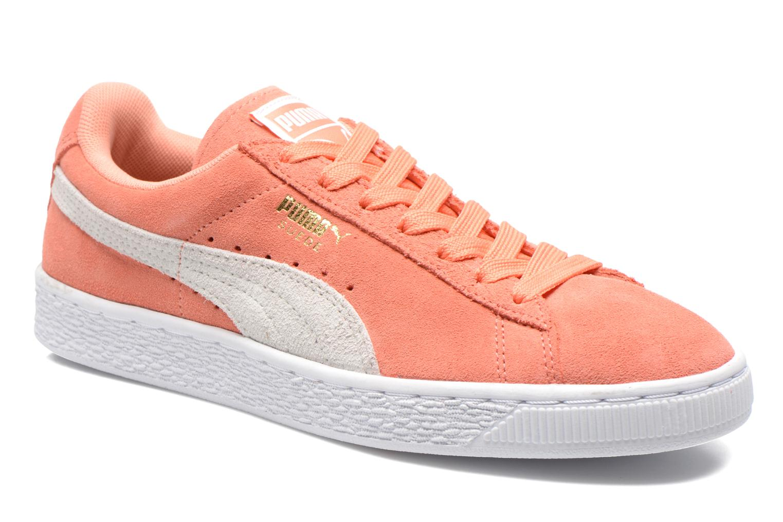 Baskets Puma Suede Classic Wn's Orange vue détail/paire