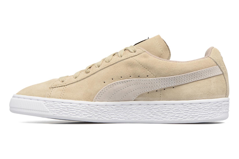 Sneaker Puma Suede Classic Wn's beige ansicht von vorne