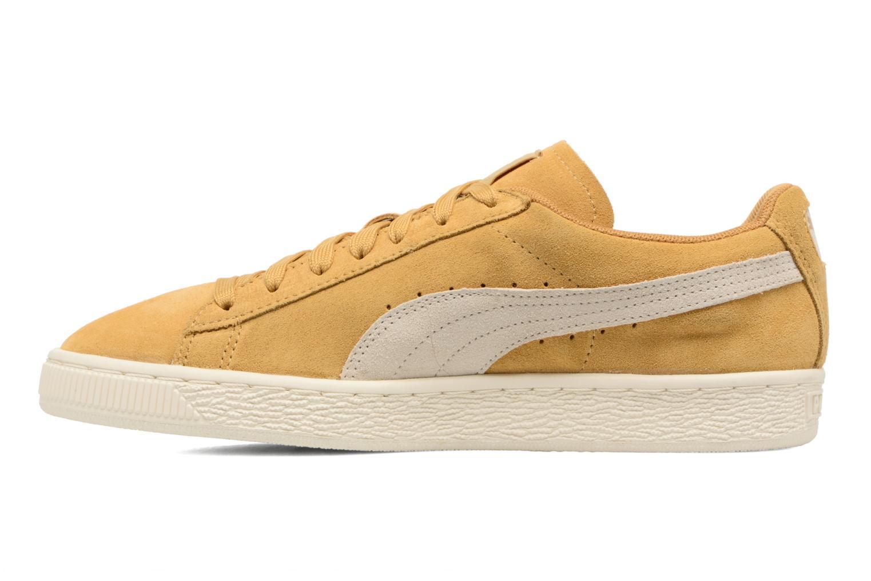 Sneaker Puma Suede Classic Wn's gelb ansicht von vorne