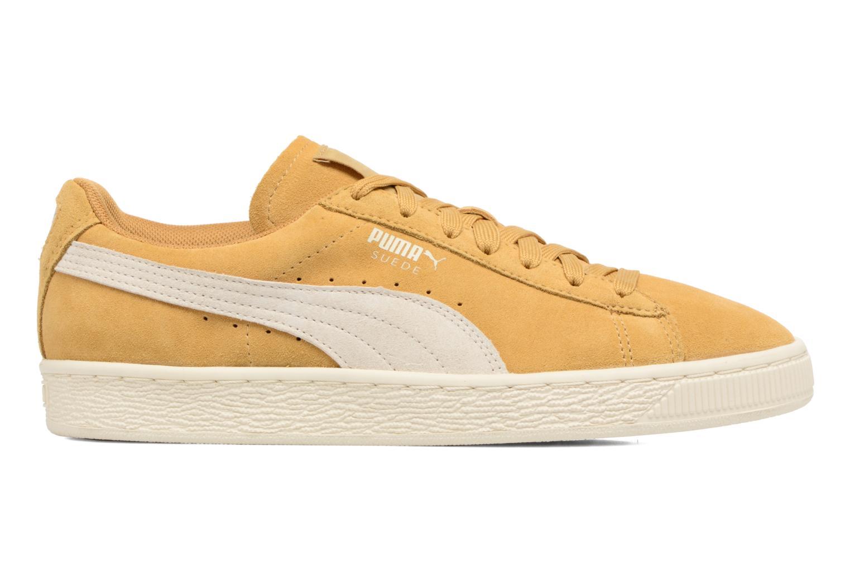Sneaker Puma Suede Classic Wn's gelb ansicht von hinten