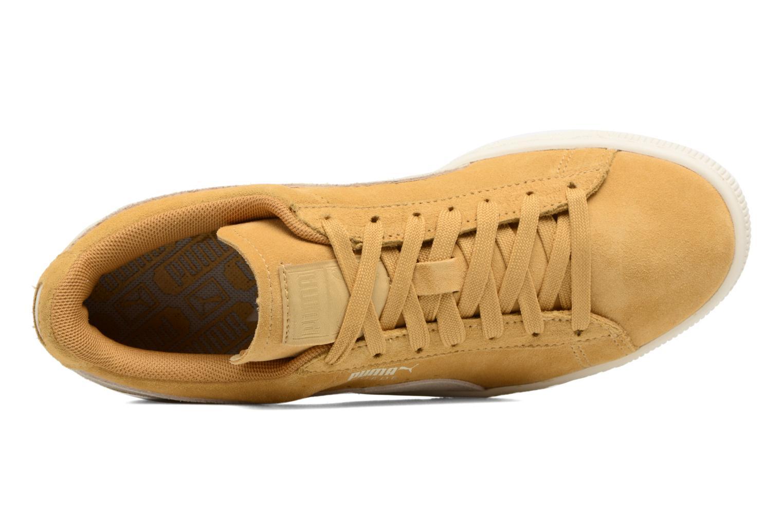 Sneaker Puma Suede Classic Wn's gelb ansicht von links