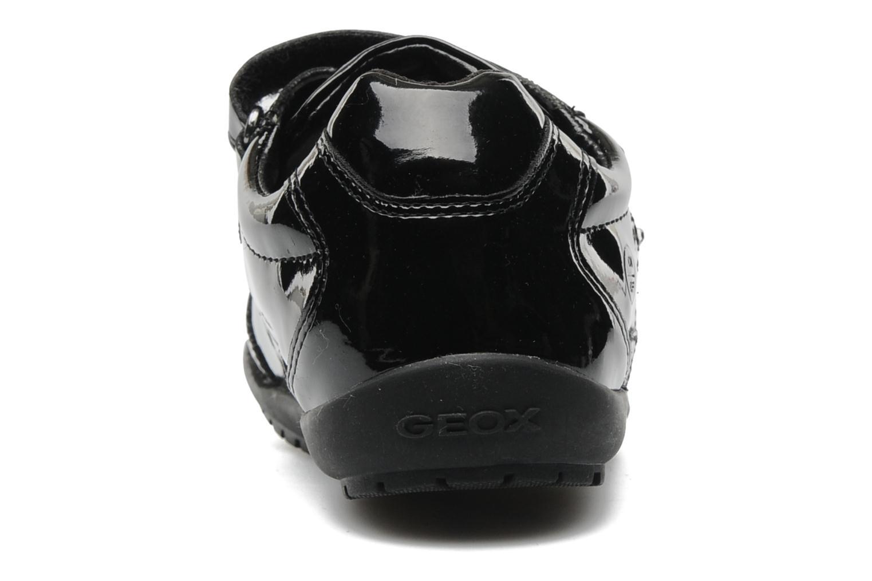 Baskets Geox J BON BON D Noir vue droite