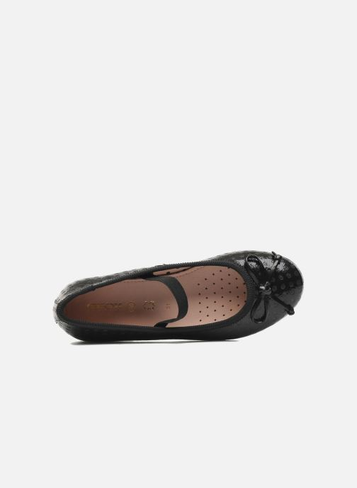 Ballet pumps Geox J PLIE' B Black view from the left