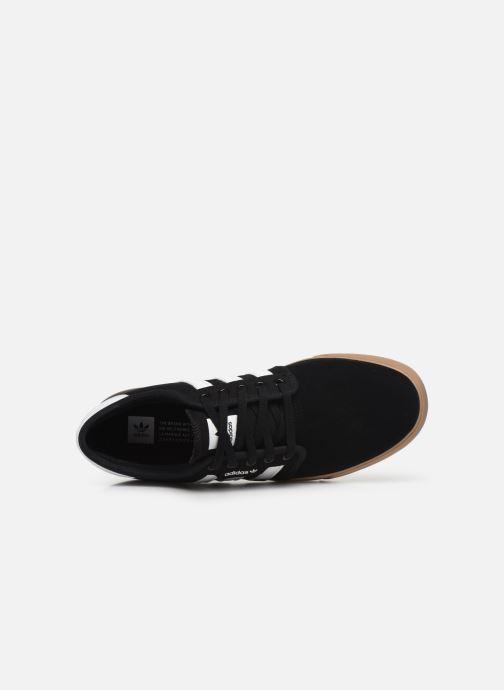 Baskets adidas originals Seeley Noir vue gauche