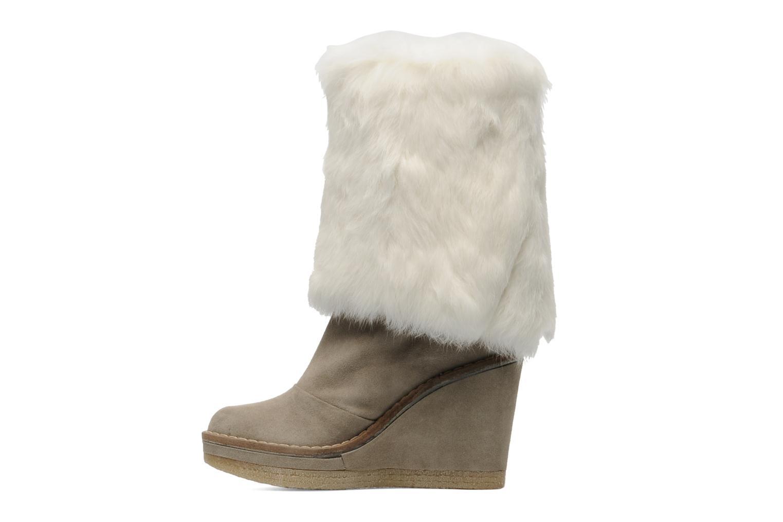 Bottines et boots Serafini Etoile Miranda Go Blanc vue face