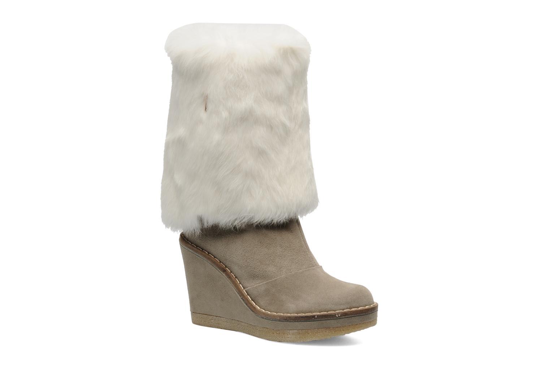 Bottines et boots Serafini Etoile Miranda Go Blanc vue détail/paire