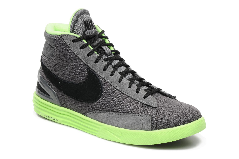 check out a08ee de295 ... closeout sneakers nike nike lunar blazer grå detaljeret billede af  skoene c3171 3c625