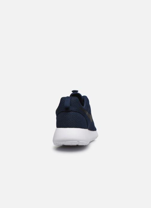 Deportivas Nike Nike Roshe One Azul vista lateral derecha
