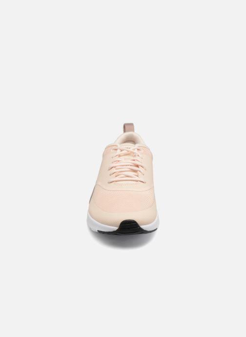 Sneaker Nike Wmns Nike Air Max Thea beige schuhe getragen