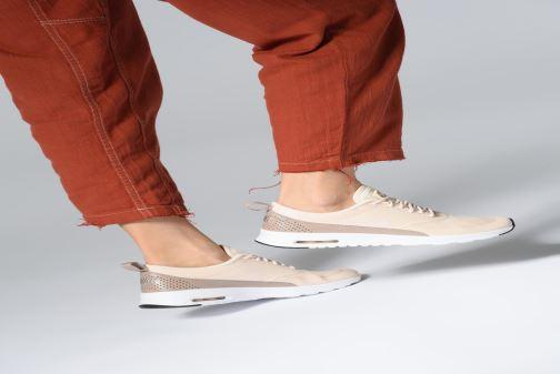 Sneaker Nike Wmns Nike Air Max Thea rosa ansicht von unten / tasche getragen