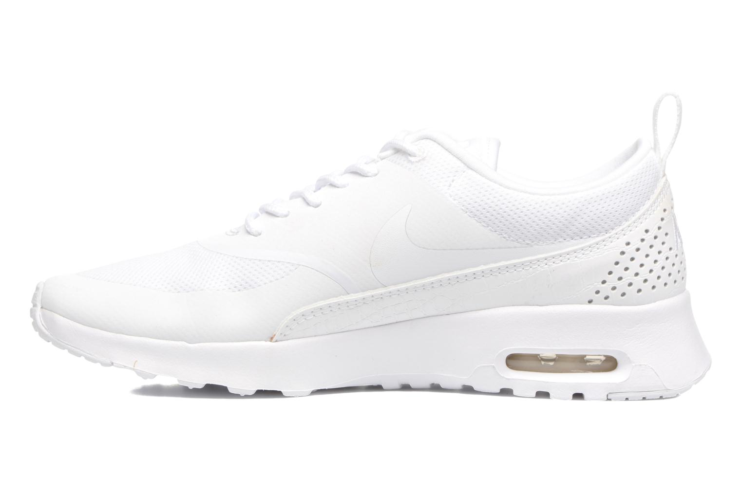 Sneakers Nike Wmns Nike Air Max Thea Bianco immagine frontale