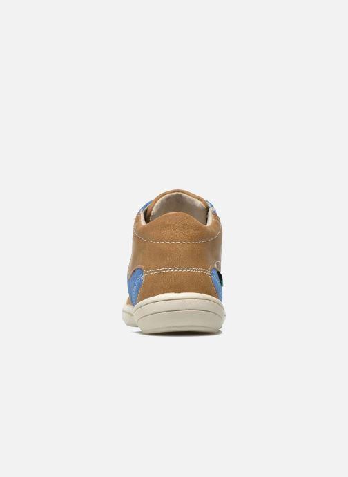 Sneakers Kickers ZELIG Bruin rechts