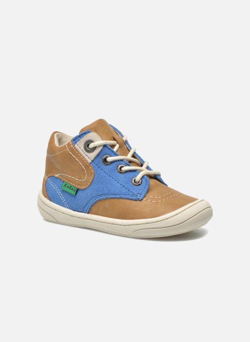Sneakers Kickers ZELIG Bruin detail