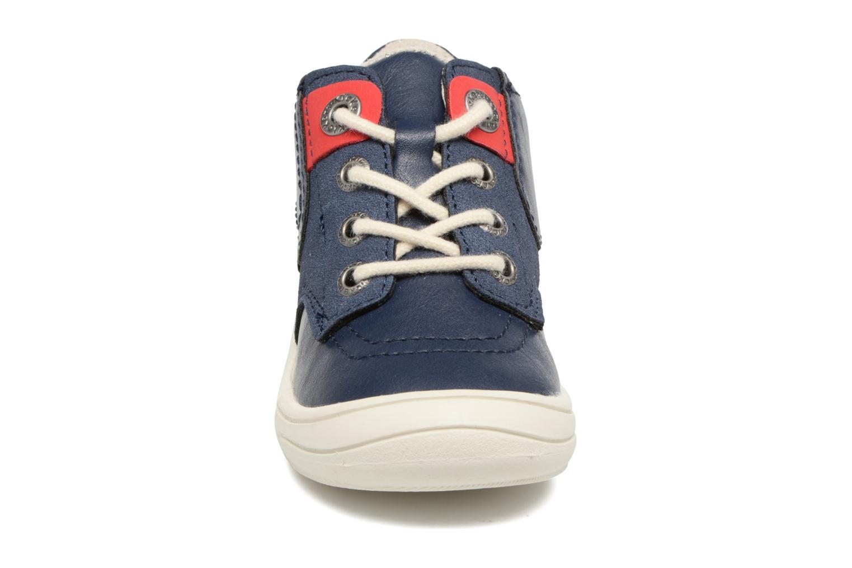Baskets Kickers ZELIG Bleu vue portées chaussures