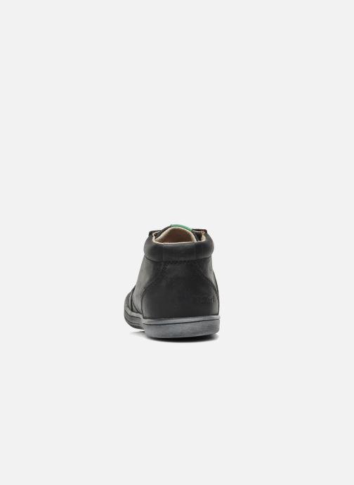 Stiefeletten & Boots Kickers Tatoo schwarz ansicht von rechts