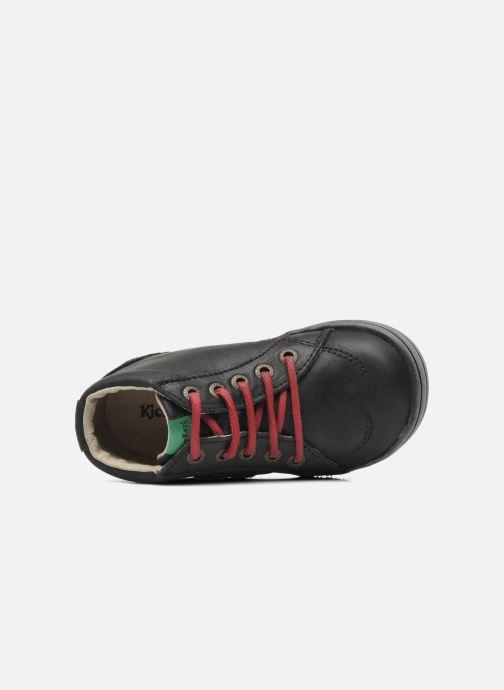 Stiefeletten & Boots Kickers Tatoo schwarz ansicht von links