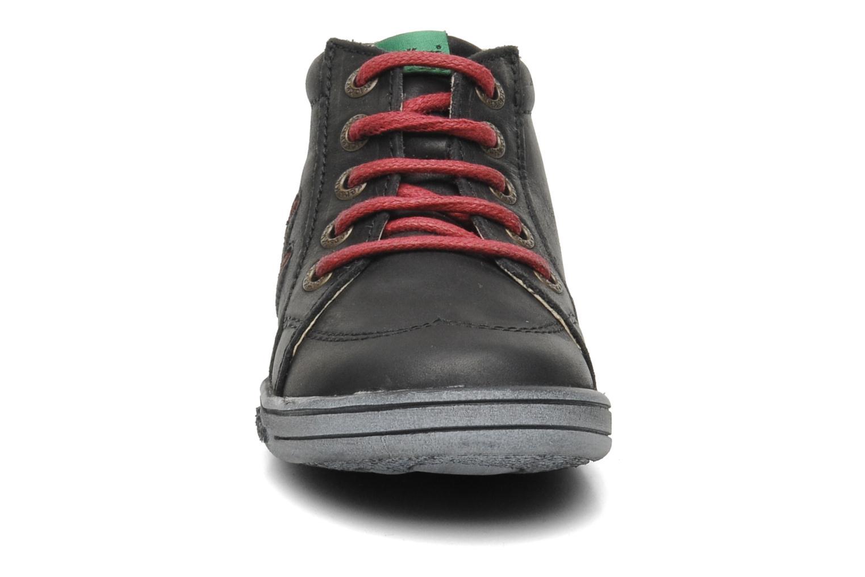 Bottines et boots Kickers Tatoo Noir vue portées chaussures