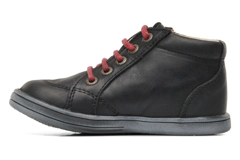 Bottines et boots Kickers Tatoo Noir vue face