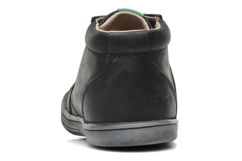 Bottines et boots Kickers Tatoo Noir vue droite