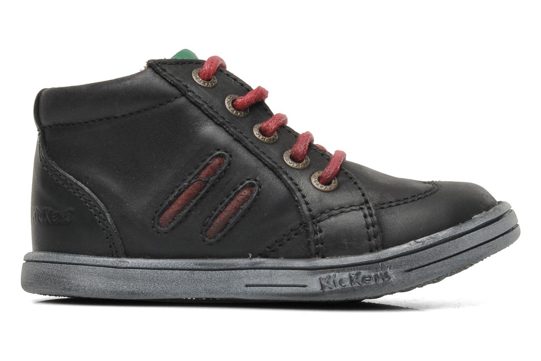 Bottines et boots Kickers Tatoo Noir vue derrière