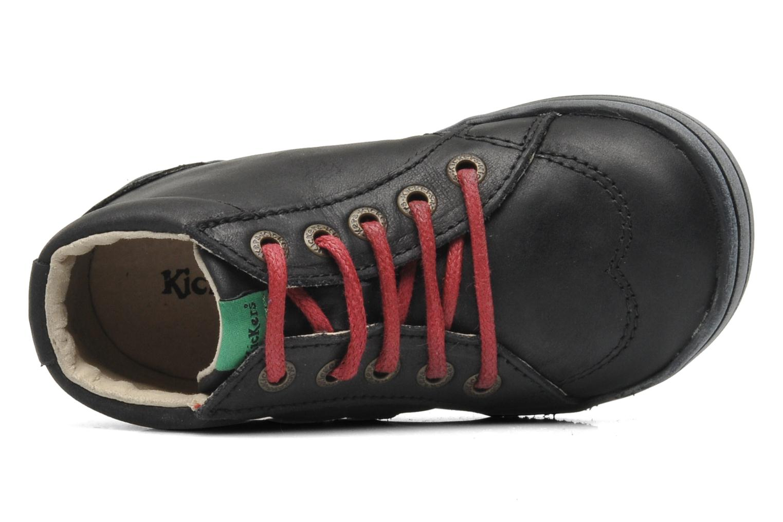 Bottines et boots Kickers Tatoo Noir vue gauche