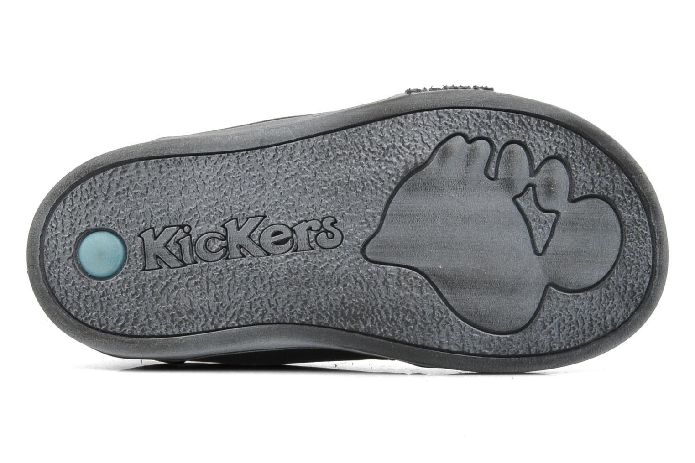 Bottines et boots Kickers Tatoo Noir vue haut