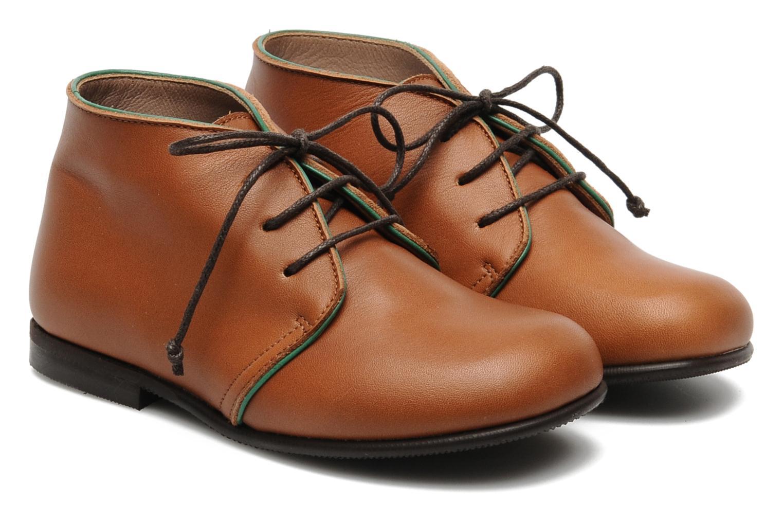 Chaussures à lacets PèPè 1200P Marron vue 3/4