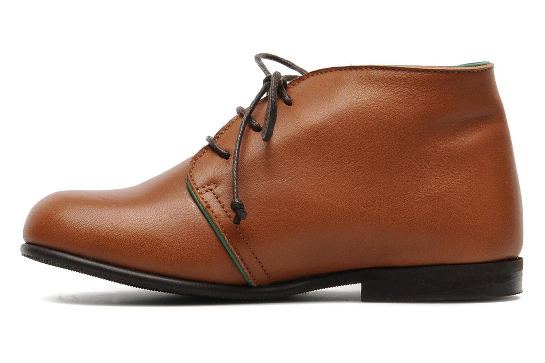 Chaussures à lacets PèPè 1200P Marron vue face