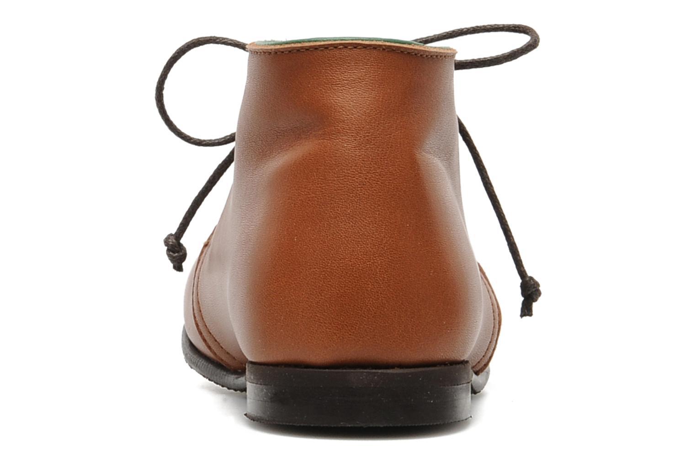 Chaussures à lacets PèPè 1200P Marron vue droite