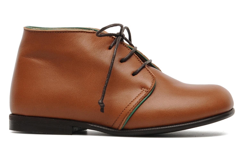 Chaussures à lacets PèPè 1200P Marron vue derrière