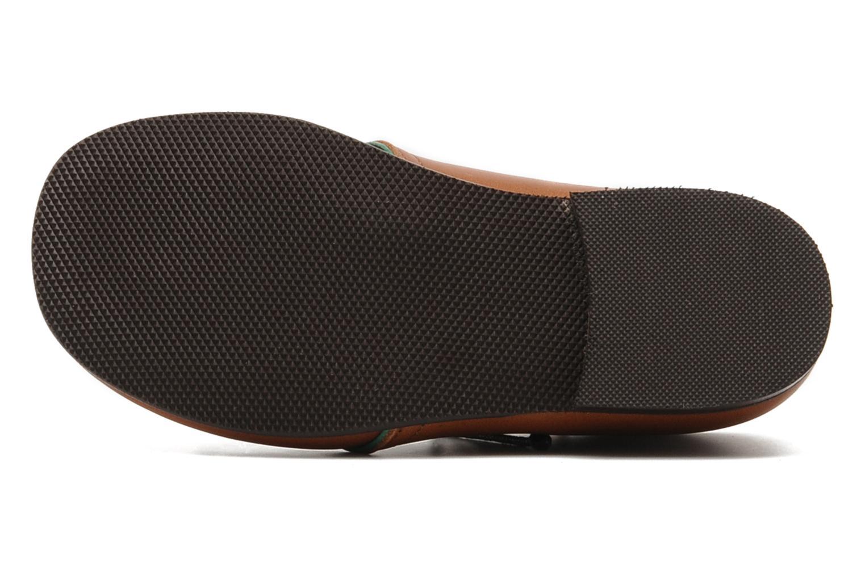 Chaussures à lacets PèPè 1200P Marron vue haut