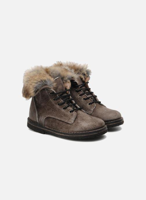 Ankle boots PèPè S1807 Grey 3/4 view