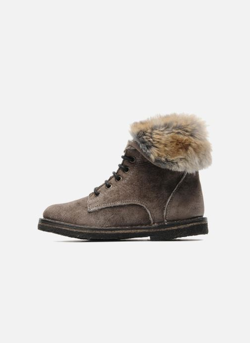 Ankle boots PèPè S1807 Grey front view